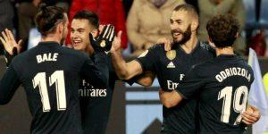 2-4. Benzema lidera en Vigo la cuarta victoria de la 'era Solari'