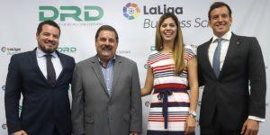 La liga de fútbol España firma una alianza con Deportes de Puerto Rico para formación deportiva