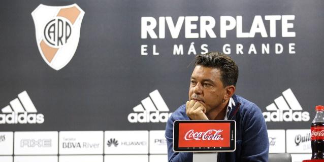 El presidente River dice que la Conmebol trata a Gallardo casi como un delincuente