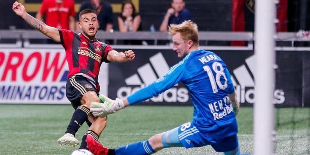 3-0. Martínez, Escobar y Villalba ponen al Atlanta con un pie en Final MLS