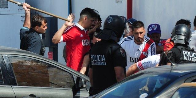 Al menos 10 detenidos por fuertes disturbios antes de la final