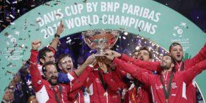 Con la Copa Davis Croacia corona una larga serie de éxitos deportivos en 2018