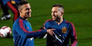 España arranca con Jordi Alba y siete sub-21