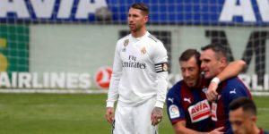 3-0. El Eibar golea al Real Madrid en la primera derrota con Solari