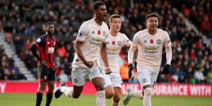 El United rescata los tres puntos contra el Bournemouth en el descuento