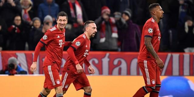 5-1. El Bayern se sacude la crisis con goleada al Benfica