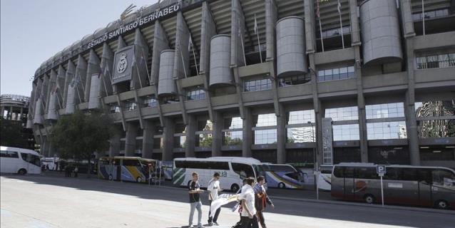El Bernabéu, primer estadio del mundo en albergar 'cuatro grandes'