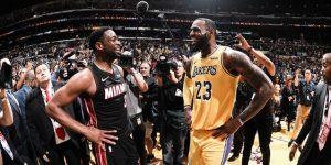 NBA: Wade juega su último partido ante James; ganan Warriors, Thunder y Celtics