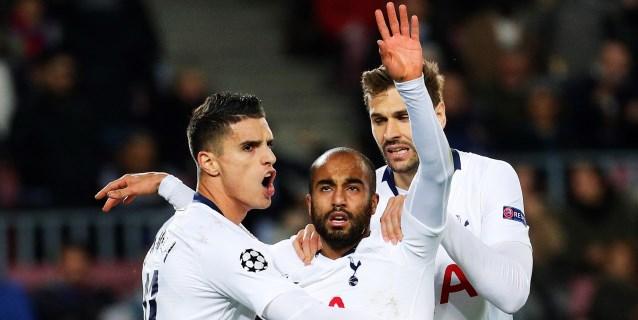 Lucas rescata al Tottenham y hunde al Inter; el PSG y el Liverpool, a octavos