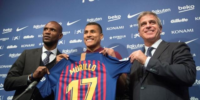 """Murillo agradece que se le abra """"la puerta más grande del mundo del fútbol"""""""