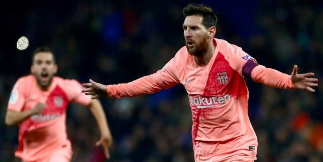 0-4. El Barcelona fulmina al Espanyol en el derbi