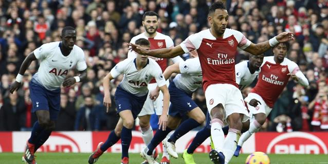 4-2. Emery reina en la locura del derbi del norte de Londres
