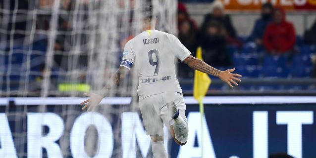 Al Inter no le basta un gol de Icardi para domar al Roma (2-2)