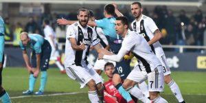 Cristiano evita la primera derrota del Juventus, el Lazio gana y el Milan se hunde
