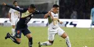 El América saca un empate 1-1 en casa de los Pumas de la UNAM