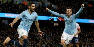 El Manchester City se afianza en el liderato; el United atascado