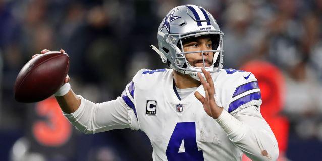 NFL: 29-23. Prescott y Cooper acercan a los Cowboys al título de División