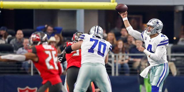 NFL: 27-20. Prescott y los Cowboys conquistan la División Este