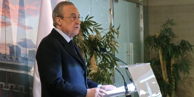 "Florentino Pérez: ""La Libertadores ha sido gran fiesta del fútbol mundial"""
