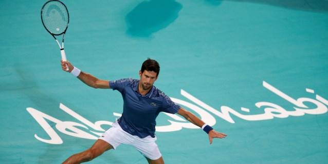 TENIS: Djokovic supera a Khachanov y buscará su cuarto título en Abu Dabi