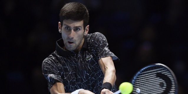 TENIS: Novak Djokovic, deportista europeo de 2018 para las agencias
