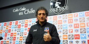 """""""Contento de cumplir un sueño"""", dice Mario Salas, nuevo técnico del Colo Colo"""