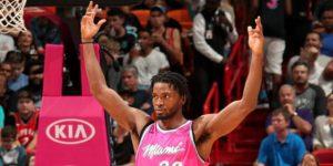 NBA: 118-94. Winslow tuvo doble-doble y lleva al liderato a los Heat