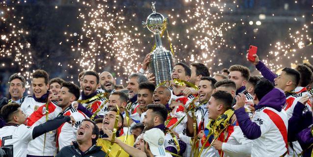 3-1. Quintero toca el cielo en Madrid y proclama a River campeón
