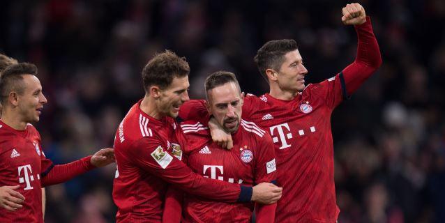 El Bayern prolonga su persecución; el Leipzig se estanca