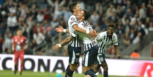 5-0. Monterrey pasa por encima del Pachuca del español Pako Ayestarán