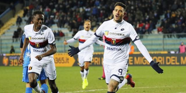 Sanabria debuta y completa la victoria del Génova 1-3 en Empoli
