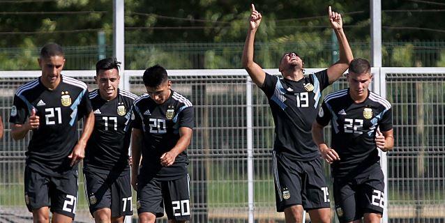 1-1. Argentina empata contra Paraguay en su debut en el Sudamericano Sub'20