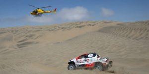 El Dakar gana emoción en motos y está casi resuelto para Al-Attiyah en automóviles