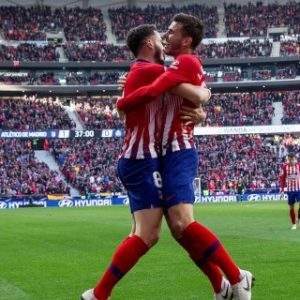 2-0. La pegada del Atlético desborda al Getafe