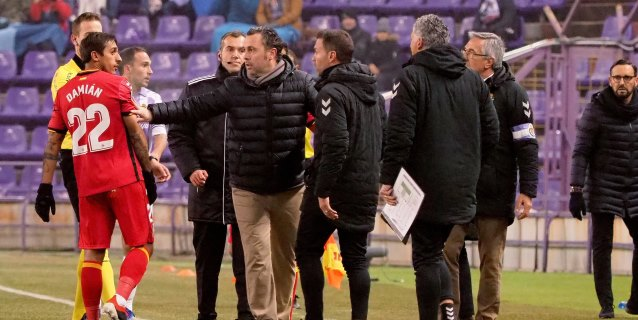 Las Peñas del Real Valladolid protestarán el domingo contra el VAR