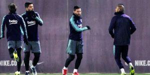 El Barça empieza a preparar el partido ante el Getafe
