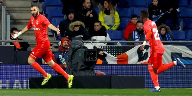 2-4. El Real Madrid condena al Espanyol en quince minutos