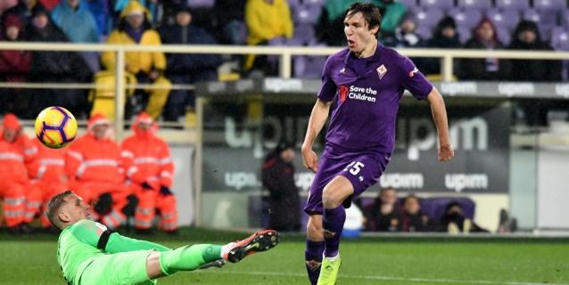El Fiorentina aplasta 7-1 al Roma con doblete de Simeone y gol de Muriel