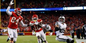 NFL: Chiefs y Ravens ganan títulos; Eagles, Colts, Chargers y Seahawks comodines