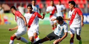 1-0. Argentina se mete a la fase final y deja fuera a Perú