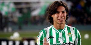 """El mexicano Lainez destaca que fichar por el Betis """"es la mejor decisión"""""""