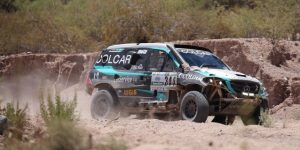 El argentino Martín Maldonado, entre los primeros abandonos del Dakar 2019