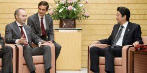 Andrés Iniesta ficha por la agencia nacional de turismo de Japón