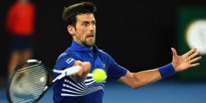 TENIS: Djokovic no duda, Zverev en apuros y Thiem eliminado