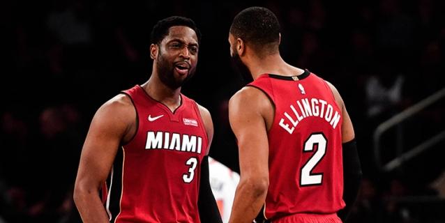 NBA: 97-106. Ellington decide el triunfo de los Heat con 19 puntos en la segunda parte