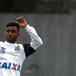 Santos pide al Real Madrid la permanencia de Rodrygo hasta finales de 2019