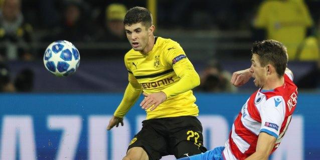 El Dortmund traspasa al Chelsea a Pulisic por 64 millones de euros