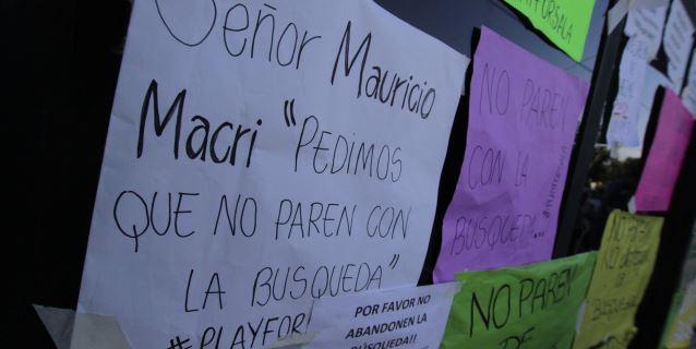 Argentina solicita a Reino Unido y Francia que reanuden la búsqueda de Sala