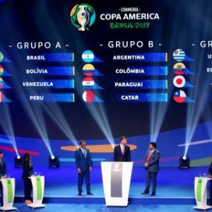 Brasil quedó en el grupo más débil y Argentina y Uruguay en los más fuertes