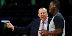 NBA: Los Timberwolves cesan al entrenador Thibodeau tras haber vencido a los Lakers